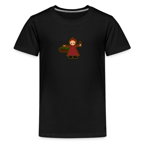 Teenager Premium T-Shirt Rotkäppchen - Teenager Premium T-Shirt
