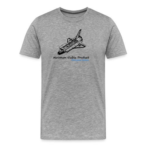 Minimum Viable Product. Enterprise Edtion. Grey - Men's Premium T-Shirt