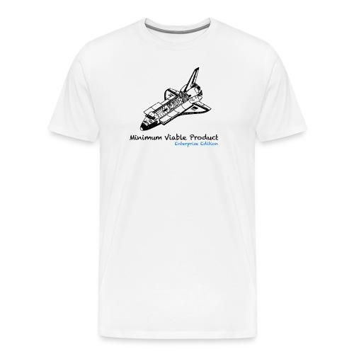 Minimum Viable Product. Enterprise Edtion. White - Men's Premium T-Shirt