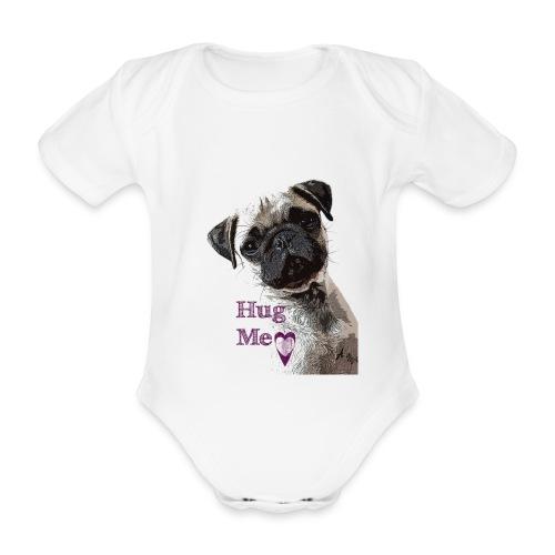 Hug Me Baby - Baby Bio-Kurzarm-Body
