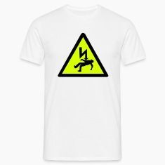 Danger of Electric Shock T-Shirts