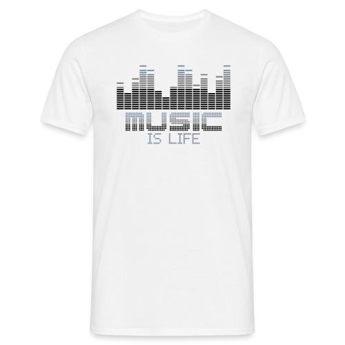 Music life - Mannen T-shirt