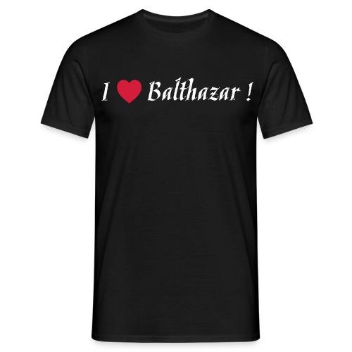 I Love Balthazar ! Black - T-shirt Homme