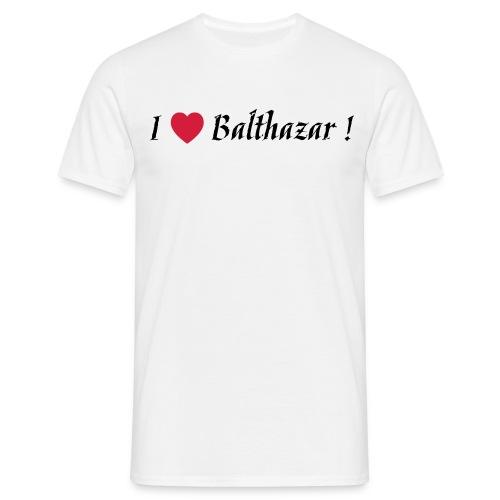 I Love Balthazar ! White - T-shirt Homme
