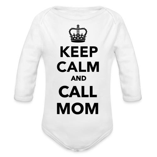 CallMom - Langærmet babybody, økologisk bomuld