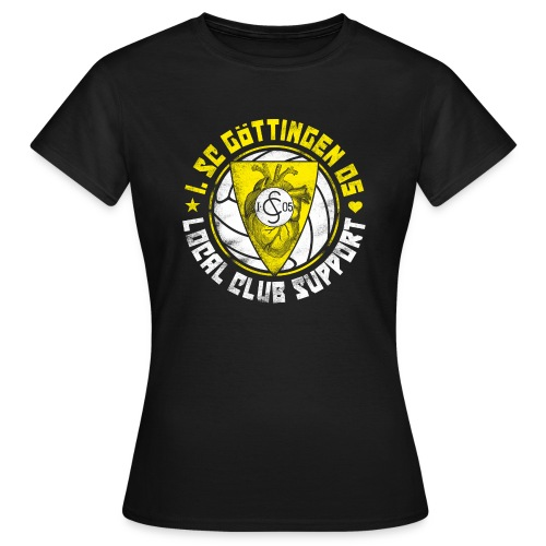 Local Club Support [feminin] - Frauen T-Shirt