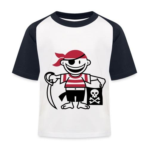 pirat-Tshirt - Baseball T-shirt til børn