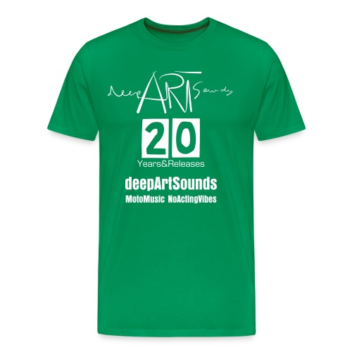 deepArtSounds 20YEARS&RELEASES - Men's Premium T-Shirt