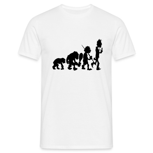 Evo White - Männer T-Shirt