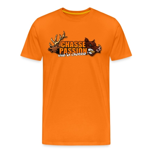 T-Shirt Chasse Passion Officiel - T-shirt Premium Homme