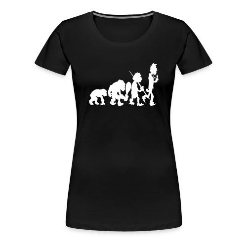 Evo White (Damen-Shirt) - Frauen Premium T-Shirt