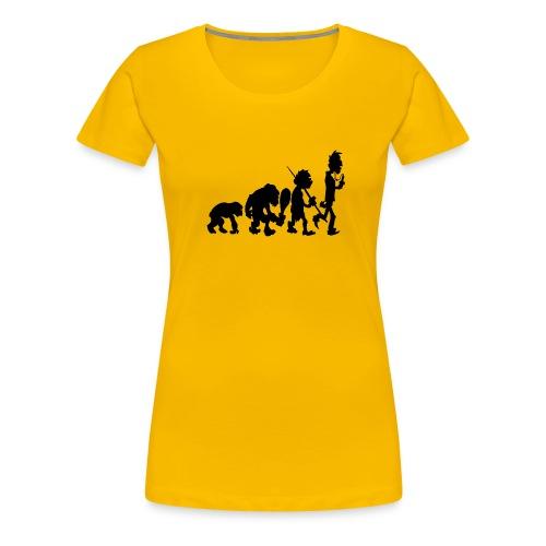 Evo Black (Damen-Shirt) - Frauen Premium T-Shirt