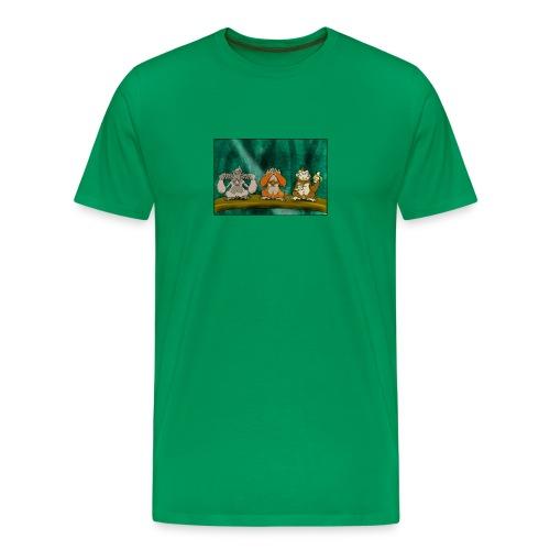 Drei Affen (Herren-Shirt) - Männer Premium T-Shirt