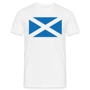The Saltire of Scotland - Men's T-Shirt