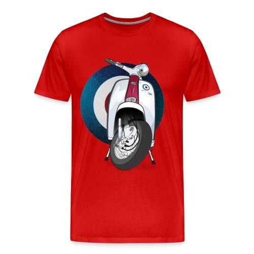 Mod Scooter T-Shirt - Lambretta - Men's Premium T-Shirt