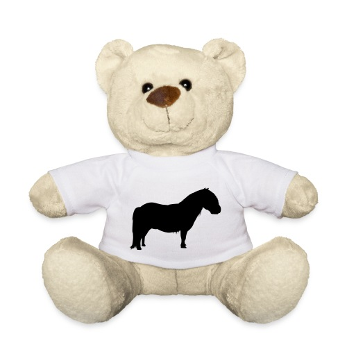 Teddy mit Ponyaufdruck - Teddy