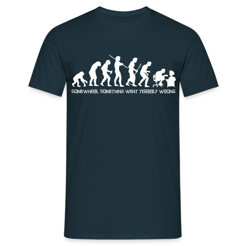 Evolution geek - T-shirt Homme