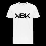 T-shirts ~ Premium-T-shirt herr ~ KBK Svarttryck (Herr)