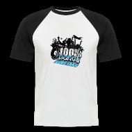 T-shirts ~ Kortärmad basebolltröja herr ~ 100% PARTY (Nyhet)