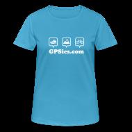Sportbekleidung ~ Frauen T-Shirt atmungsaktiv ~ GPSies Shirt Frauen bunt