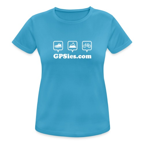 GPSies Shirt Frauen bunt - Frauen T-Shirt atmungsaktiv