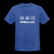 T-Shirts ~ Männer T-Shirt atmungsaktiv ~ GPSies Shirt Männer bunt