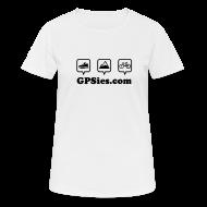 Sportbekleidung ~ Frauen T-Shirt atmungsaktiv ~ GPSies Shirt Frauen weiß