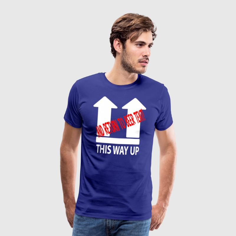 This Way Up - Men's Premium T-Shirt