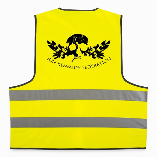 Reflective Vest - we're just waiting for you now,useless wooden toys,tru thoughts,trip hop,take my drum to england,jon kennedy federation,jon kennedy,grand central,bonobo,14