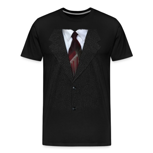 Camisa traje - Camiseta premium hombre