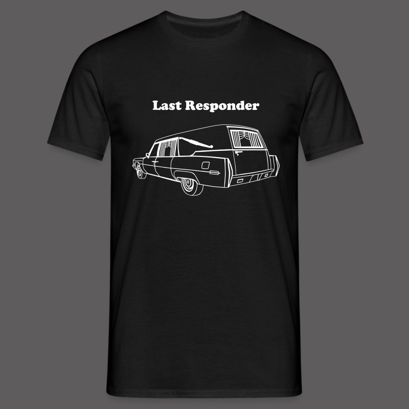 Last Responder - Männer T-Shirt