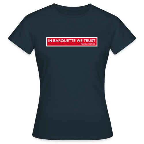 In Barquette - F - T-shirt Femme