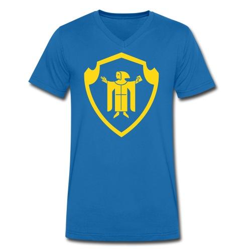 Münchner Kindl - Männer Bio-T-Shirt mit V-Ausschnitt von Stanley & Stella