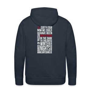 DANTE Men Hoodie Birds of Passage Lyric navy- red / white - Männer Premium Hoodie