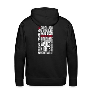 DANTE Men Hoodie Birds of Passage Lyric black- red / white - Männer Premium Hoodie