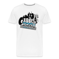 T-shirts ~ Premium-T-shirt herr ~ 100% BLEKINGE