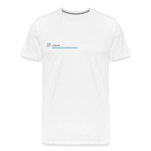 SUPPORTER Logo Forum Informationsfreiheit - Männer Premium T-Shirt