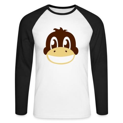 Avekat Shirt! - Langærmet herre-baseballshirt