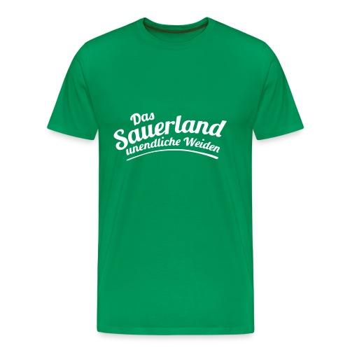 Weideland - Männer Premium T-Shirt