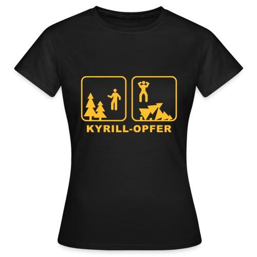 Kyrill-Opfer - Frauen T-Shirt