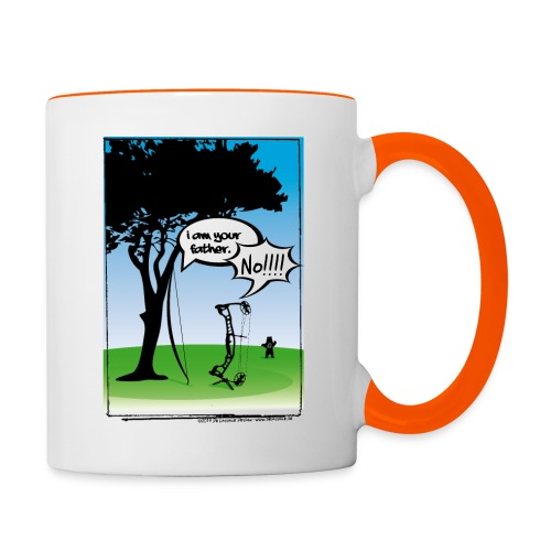 Your Father - Bowhunter - Tasse zweifarbig