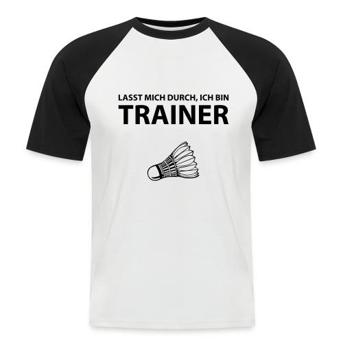 Trainer T-Shirt - Männer Baseball-T-Shirt