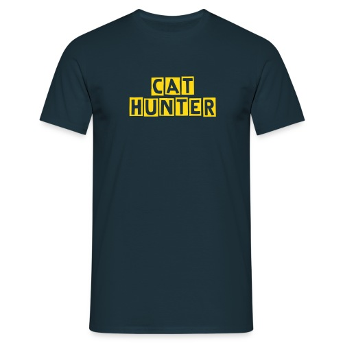 Cat hunter - Men's T-Shirt