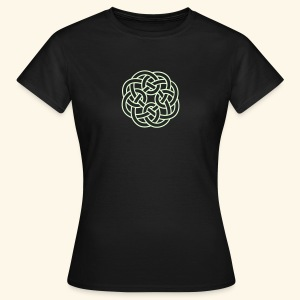 Celtic Ornament Shirt, Girlie - Frauen T-Shirt
