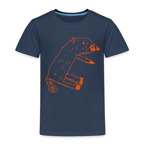 Orange-Dog Kids - Kinder Premium T-Shirt