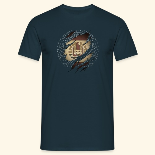 Drapeau Polynésie Française et tattoo - T-shirt Homme