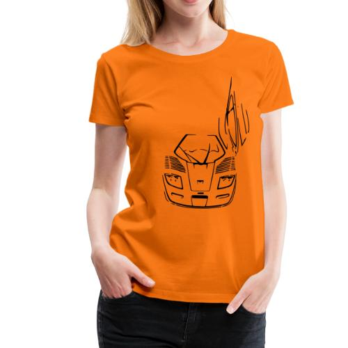 F1 GTR Longtail - Ladies - Women's Premium T-Shirt