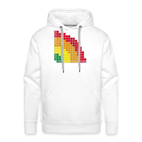 White hoodie - Sweat-shirt à capuche Premium pour hommes