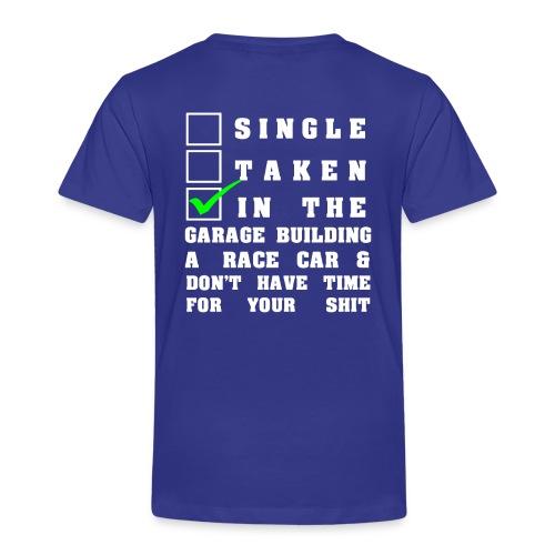 Buggycity T-Shirt In the Garage - Kinder Premium T-Shirt
