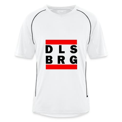 DLSBRG Männer Fussballtrikot weiß - Männer Fußball-Trikot